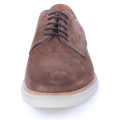 h by hudson boson mens suede brogue laced new shoes