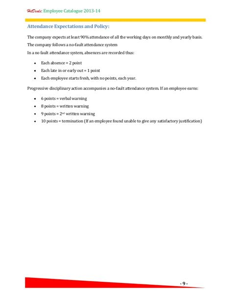 Justification Letter For Cell Phone Hr Policy Employee Catalogue A Template For Your Company