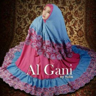 Mukenah Mukena Batik Lukis mukena style baju muslim cantik harga murah mukena al gani