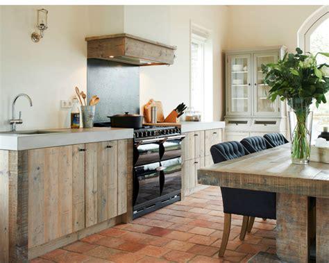 landelijke keuken hout modern landelijke keuken restylexl