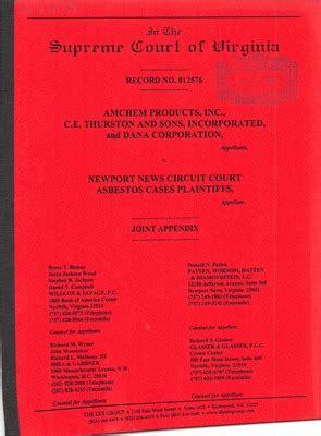 Virginia Court Cases Records Virginia Supreme Court Records Volume 264 Virginia Supreme Court Records