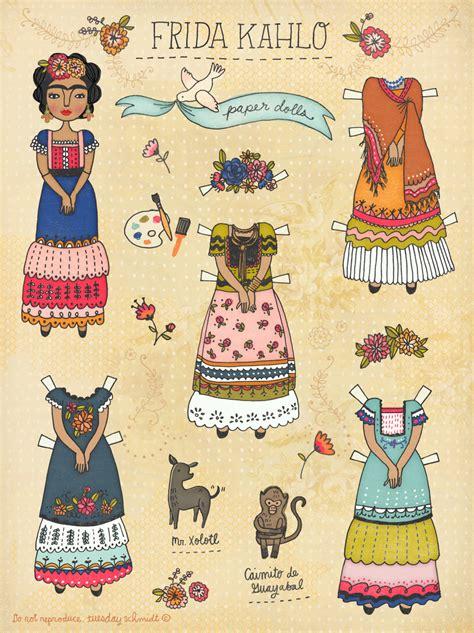 frida kahlo paper dolls 1452108250 frida kahlo paper doll poster