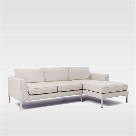 marco sectional marco 2 piece chaise sectional west elm