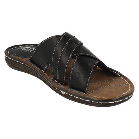 comfit slippers bata comfit mens casual sandals 861 2602 ebay