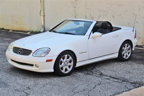 auto body repair training 2003 mercedes benz slk class windshield wipe control buy used 2003 mercedes benz slk230 kompressor convertible 2 door 2 3l in caldwell new jersey
