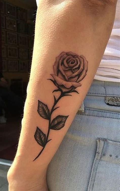 single rose tattoo 22240 best tatoos images on