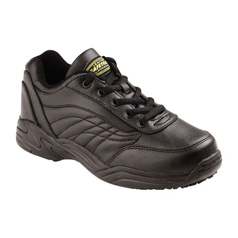 safetrax shoes safetrax womens wide width athletic oxford black
