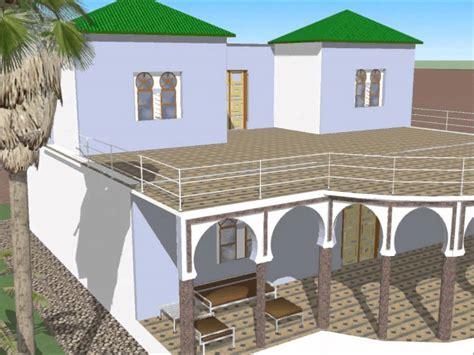 Plan Maison Mauresque