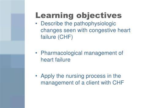 congestive heart failure chf nursing care plan management nursing care for chf