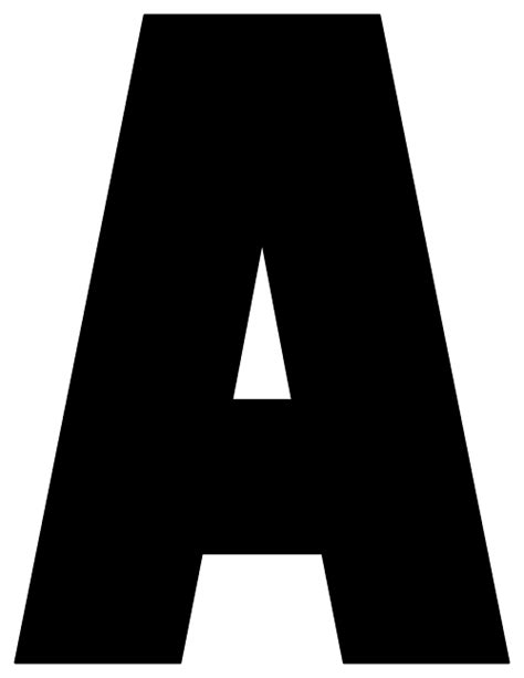 Printable Block Letters A Z   block letter a bbq grill recipes