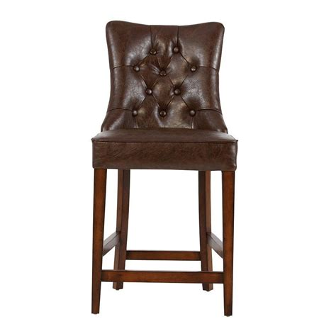 home decorators bar stools home decorators collection rebecca in brown cushioned bar