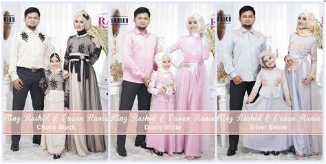 Baju Keluarga Branded koleksi terkini model baju muslim keluarga 2015