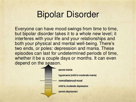 bipolar mood swings relationships living with bipolar disorder