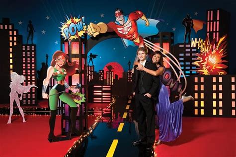 themes in superhero films homecoming hallway decorations with movie themes fun new