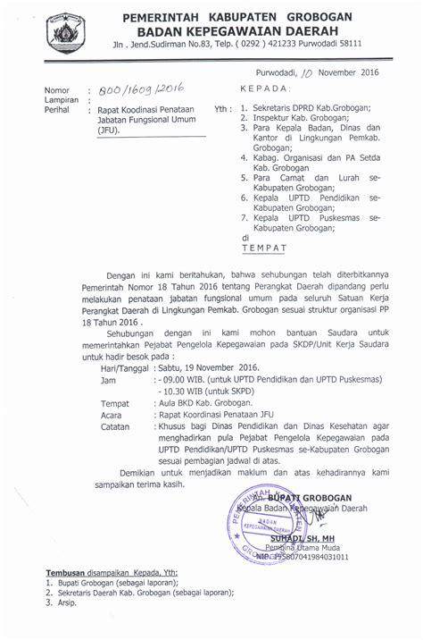 format buku tamu undangan badan kepegawaian daerah kabupaten grobogan