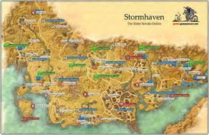 Elder Scrolls Online World Map by Stormhaven Daggerfall Covenant The Elder Scrolls