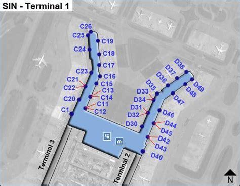 map of singapore airport terminals singapore changi sinairport terminal map terminal 2