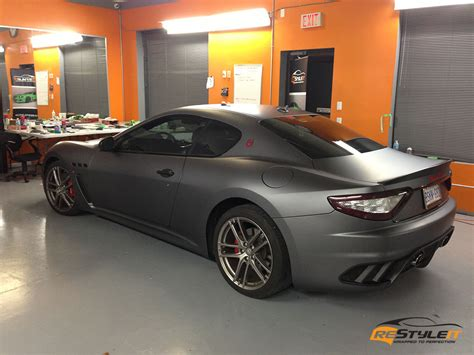 maserati gt matte matte metallic grey maserati gt vehicle customization