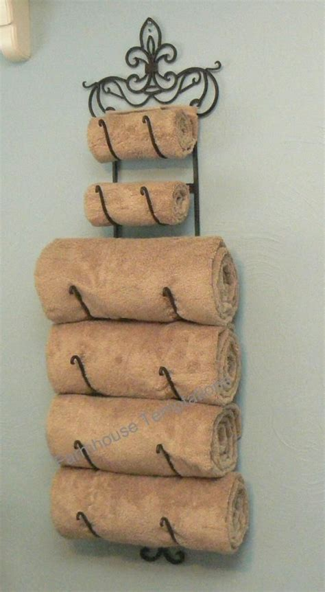 Decorative Towel Holders Bathroom » Home Design 2017