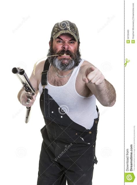Angry Redneck Stock Photo   Image: 50720463