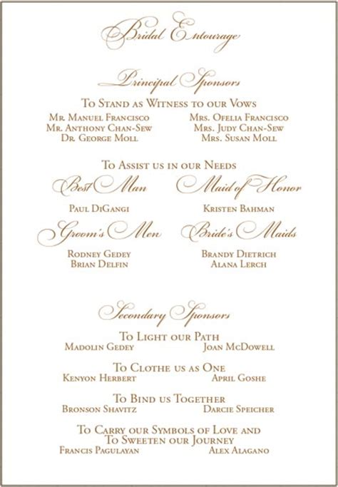 wedding invitation wording tagalog wedding sponsers