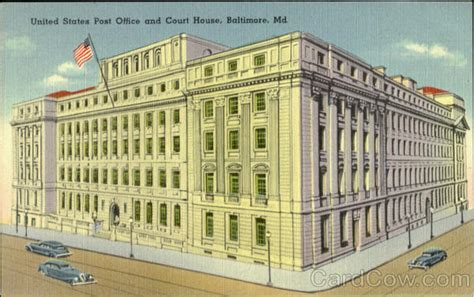 Post Office 21218 by United States Post Office And Court House Baltimore Md