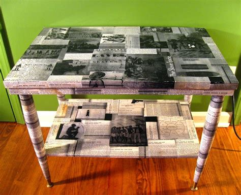 Decoupage Coffee Table Ideas - more decoupage ideas decoupage