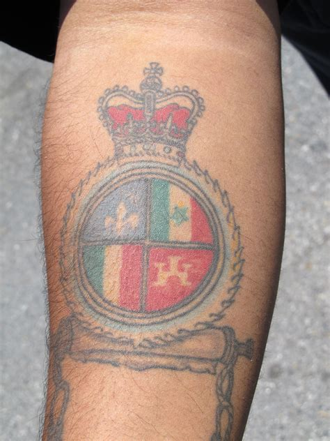 creole tattoo designs phil s quot creole crest quot southern images icons