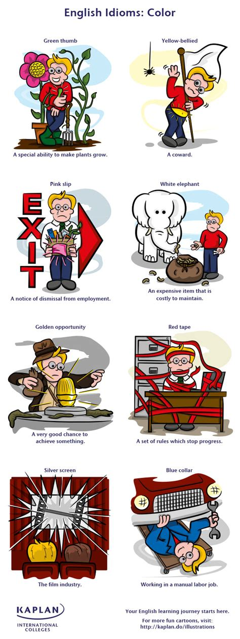 color idioms english idioms with colour a golden opportunity