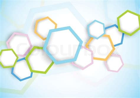 Modern Home Design Wiki by Background With Hexagon Stock Vector Colourbox