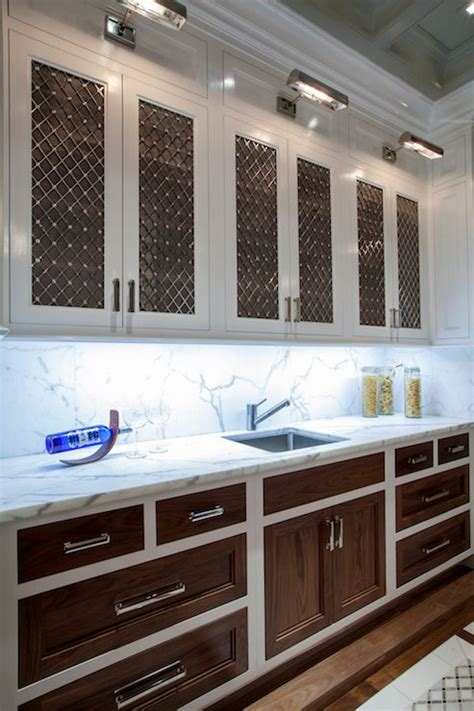 two tone kitchen cabinet doors the renovated home kitchens white cabinets with wood
