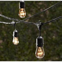 outdoor lights outdoor decorative patio string lights 48 ft