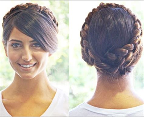 step by step twist hairstyles step by step braid crown hairstyle braids pinterest