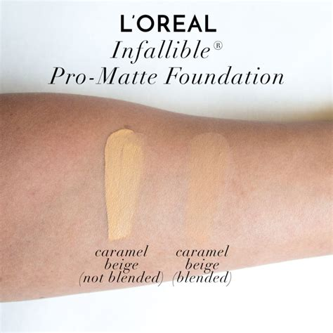 L Oreal Foundation Infallible Pro Matte l oreal infallible pro matte foundation swatches review