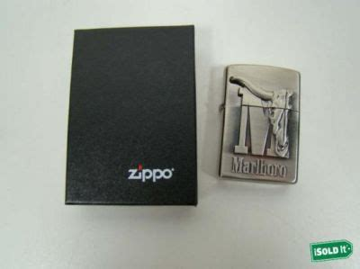 Zippo Marlboro Big M lighter price guide