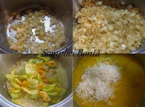 risotto con i fiori di zucchina risotto ai fiori di zucchina ricetta primo semplici bonta
