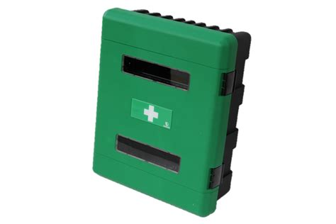 large first aid cabinet cb4007 deluxe large first aid cabinet green checkpoint