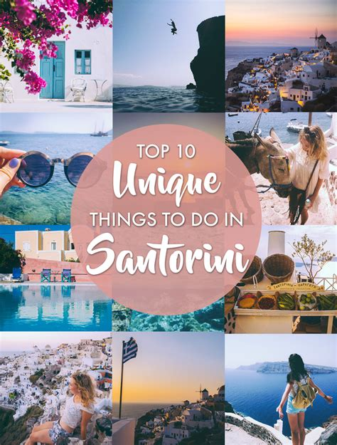 Top By Unique top 10 unique things to do in santorini polkadot passport