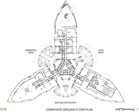floor plan of burj khalifa burj khalifa floor plans dubai a d pinterest burj