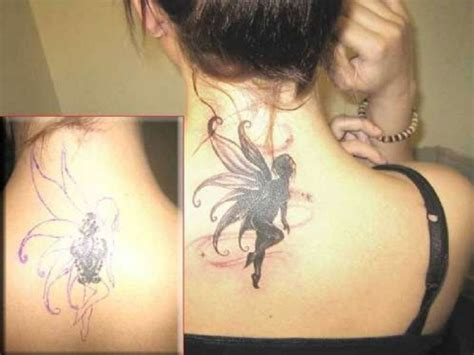 neck tattoo cover up clothing back neck angel wings cover up tattoo inofashionstyle com