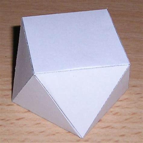Rectangular Prism Origami - paper rectangular antiprism