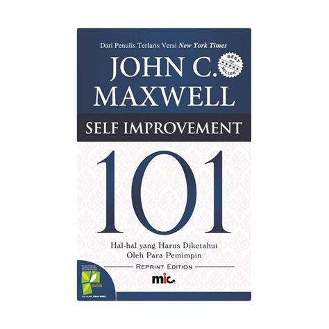 Buku 101 Template Instan Untuk Bisnis jual mic publishing self improvement 101 by c maxwell buku motivasi harga