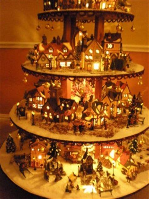 pattern for christmas village details about dept 56 lemax holiday village house display