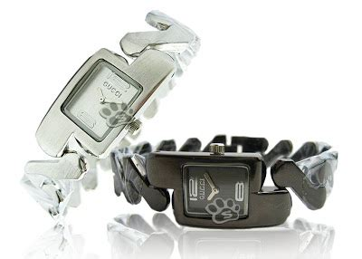 Guess Silver Tali Rantai Pasir jam tangan wanita gucci guess