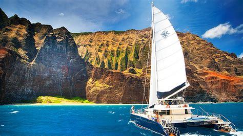 north kauai boat tours scenic boat tours in kauai party aloha