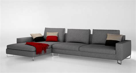 Large Couches by Molteni Large Sofa 3d Model Max Obj Cgtrader