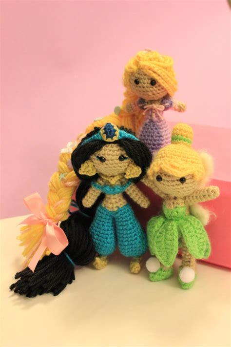 amigurumi pattern disney varietats disney princess by crochet