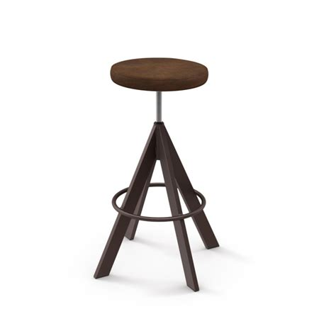 slim bar stool home envy furnishings solid wood uplift backless stool home envy furnishings solid wood