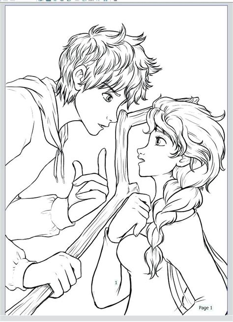 coloring pages elsa and jack elsa and jack frost coloring pages i am jack frost elsa