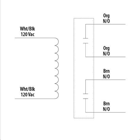 120vac relay wiring diagram 27 wiring diagram images
